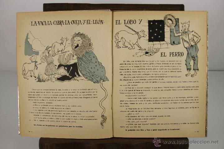 Libros antiguos: 4152- LOTE DE 5 CUENTOS INFANTILES EN CASTELLANO Y FRANCES. VARIAS EDIT. VER DESCRIPCION. AÑOS 30/50 - Foto 7 - 40921379