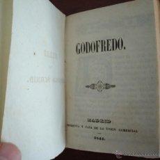 Libros antiguos: GODOFREDO, CANÓNIGO SCHMID, ORIGINAL DE 1844, PRIMERA EDICIÓN EN ESPAÑOL. Lote 40966888