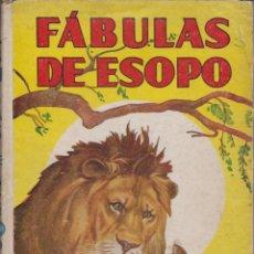 Libros antiguos: FÁBULAS DE ESOPO1936. Lote 41059065