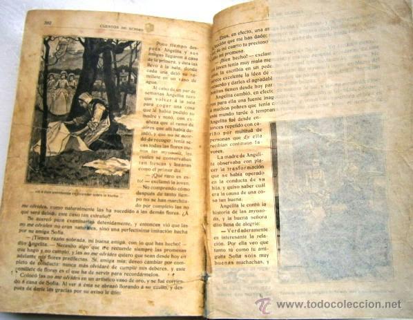 Libros antiguos: Cuentos escogidos por Cristóbal Schmid de Ed. Saturnino Calleja en Madrid s/f (1910) 16ª Edición - Foto 5 - 41076555