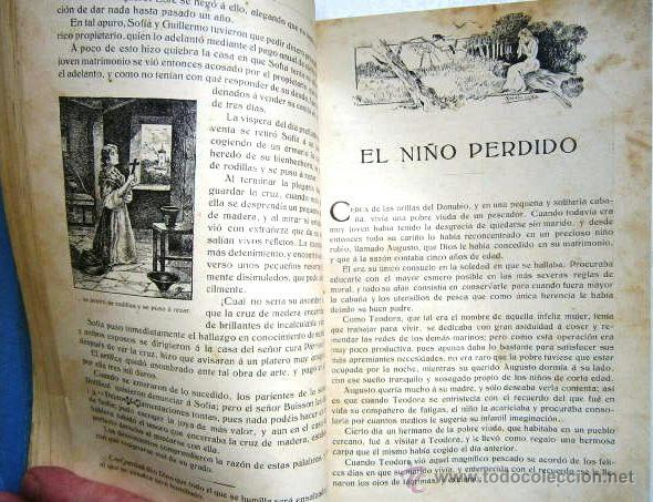 Libros antiguos: Cuentos escogidos por Cristóbal Schmid de Ed. Saturnino Calleja en Madrid s/f (1910) 16ª Edición - Foto 6 - 41076555