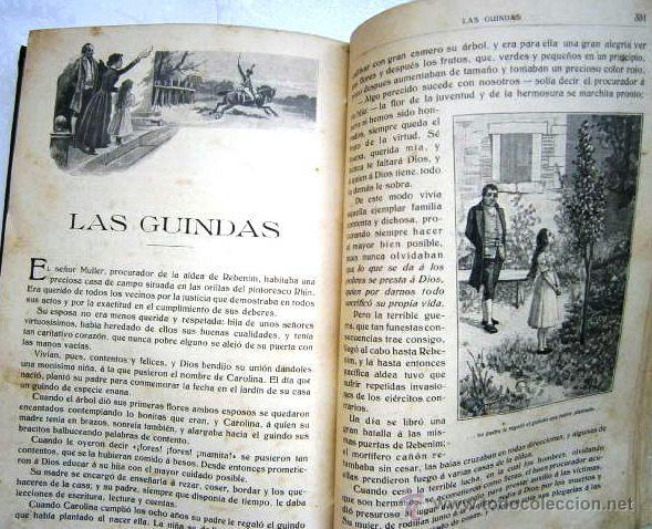 Libros antiguos: Cuentos escogidos por Cristóbal Schmid de Ed. Saturnino Calleja en Madrid s/f (1910) 16ª Edición - Foto 7 - 41076555