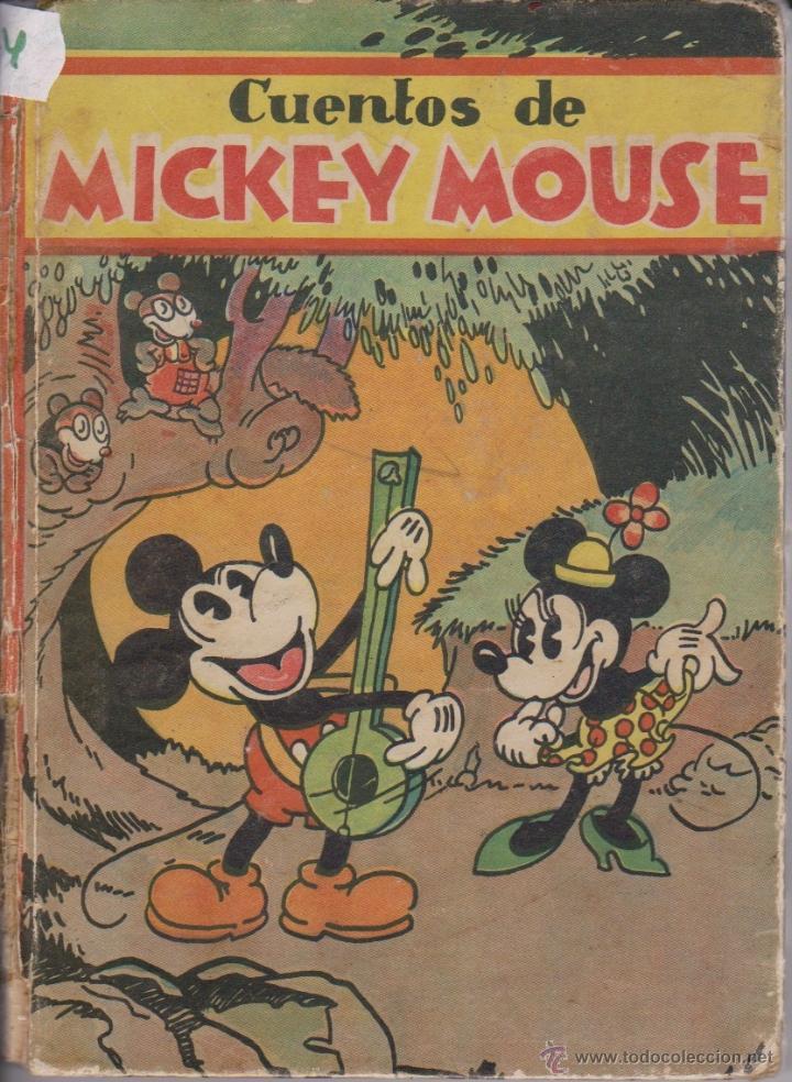 CUENTOS DE MICKEY MOUSEDISNEY1935 (Libros Antiguos, Raros y Curiosos - Literatura Infantil y Juvenil - Cuentos)