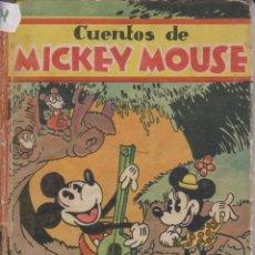 Libros antiguos: CUENTOS DE MICKEY MOUSEDISNEY1935. Lote 41111644