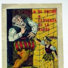 Libros antiguos: EL CASTILLO DE TALIÓN Ó LA FUERZA DE LA RAZÓN CUENTO PUBLICIDAD FARMACIA RECONSTITUYENTE GLEFINA . Lote 41526026