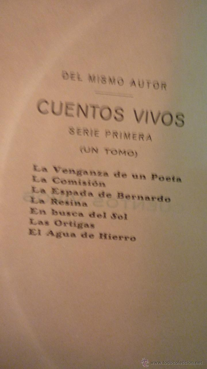 Libros antiguos: APELES MESTRES . CUENTOS VIVOS . 2 Libros serie primera y segunda. COMPLETA . 1918 - Foto 6 - 42464081