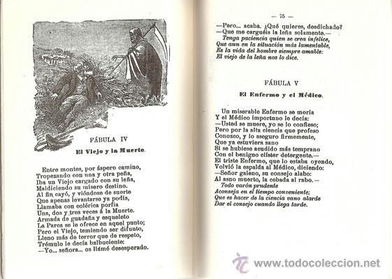 Libros antiguos: FÁBULAS EN VERSO CASTELLANO – AÑO 1876 - Foto 3 - 42612522