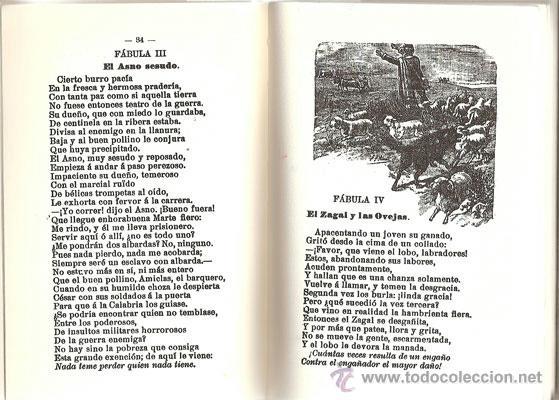 Libros antiguos: FÁBULAS EN VERSO CASTELLANO – AÑO 1876 - Foto 4 - 42612522