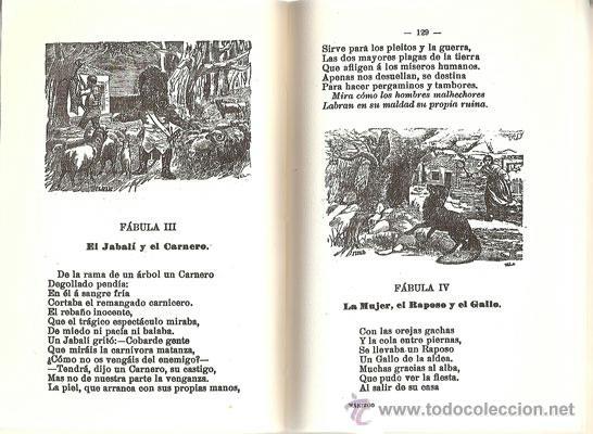 Libros antiguos: FÁBULAS EN VERSO CASTELLANO – AÑO 1876 - Foto 5 - 42612522