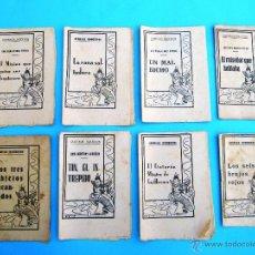 Libros antiguos: LOTE DE CUENTOS CLÁSICOS, CUENTOS INÉDITOS, CUENTOS MODERNOS. EDITORIAL MOLINO, COLECCIÓN MARUJITA.. Lote 132558499