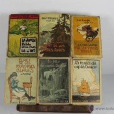 Libros antiguos: 4590- BIBLIOTECA PATUFET. EDIT. BAGUÑA. COLECCION DE 48 VOLUMENES. AÑOS 20/30.. Lote 43397703