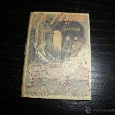 Libros antiguos: CUENTO DE CALLEJA EL TESORO DE SALOMON. Lote 43531182