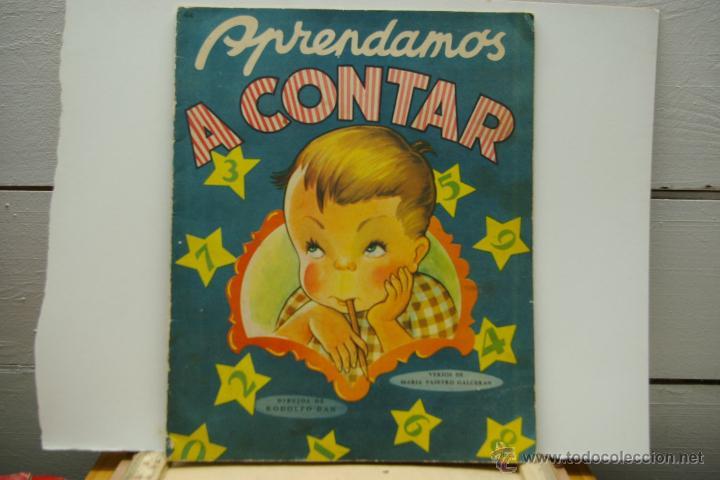 APRENDAMOS A CONTAR -CON ILUSTRACIONES DE RODOLFO DAN (Libros Antiguos, Raros y Curiosos - Literatura Infantil y Juvenil - Cuentos)
