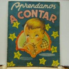 Libros antiguos: APRENDAMOS A CONTAR -CON ILUSTRACIONES DE RODOLFO DAN. Lote 43777312