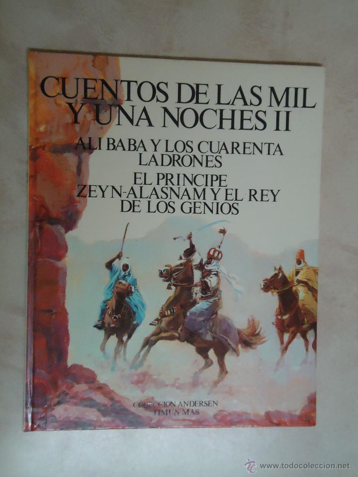 CUENTOS DE LAS MIL Y UNA NOCHES II.AÑO 1978 (Libros Antiguos, Raros y Curiosos - Literatura Infantil y Juvenil - Cuentos)
