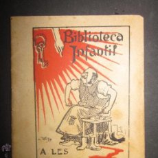 Libros antiguos: BIBLIOTECA INFANTIL - A LES PORTES DEL CEL - ILUSTRACION UTRILLO - LLIBRERIA BATLLE- (V-898). Lote 44043533