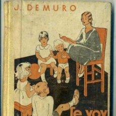 Libros antiguos: DEMURO : TE VOY A CONTAR MÁS CUENTOS (ESTUDIO, S/F). Lote 44099196