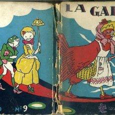 Libros antiguos: LA GALLINITA ROJA (MOLINO, 1935) ILUSTRADO POR BERTA Y ELMER HADER. Lote 44099414