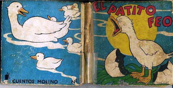 EL PATITO FEO (MOLINO, 1935) ILUSTRADO POR BERTA Y ELMER HADER (Libros Antiguos, Raros y Curiosos - Literatura Infantil y Juvenil - Cuentos)