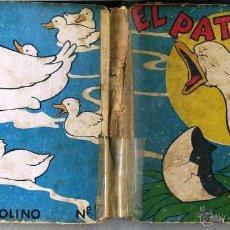 Libros antiguos: EL PATITO FEO (MOLINO, 1935) ILUSTRADO POR BERTA Y ELMER HADER. Lote 44099434