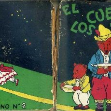 Libros antiguos: EL CUENTO DE LOS TRES OSOS (MOLINO, 1935) ILUSTRADO POR BERTA Y ELMER HADER. Lote 62570680