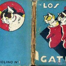 Libros antiguos: LOS TRES GATITOS (MOLINO, 1935) ILUSTRADO POR KURT WIESE. Lote 44099467