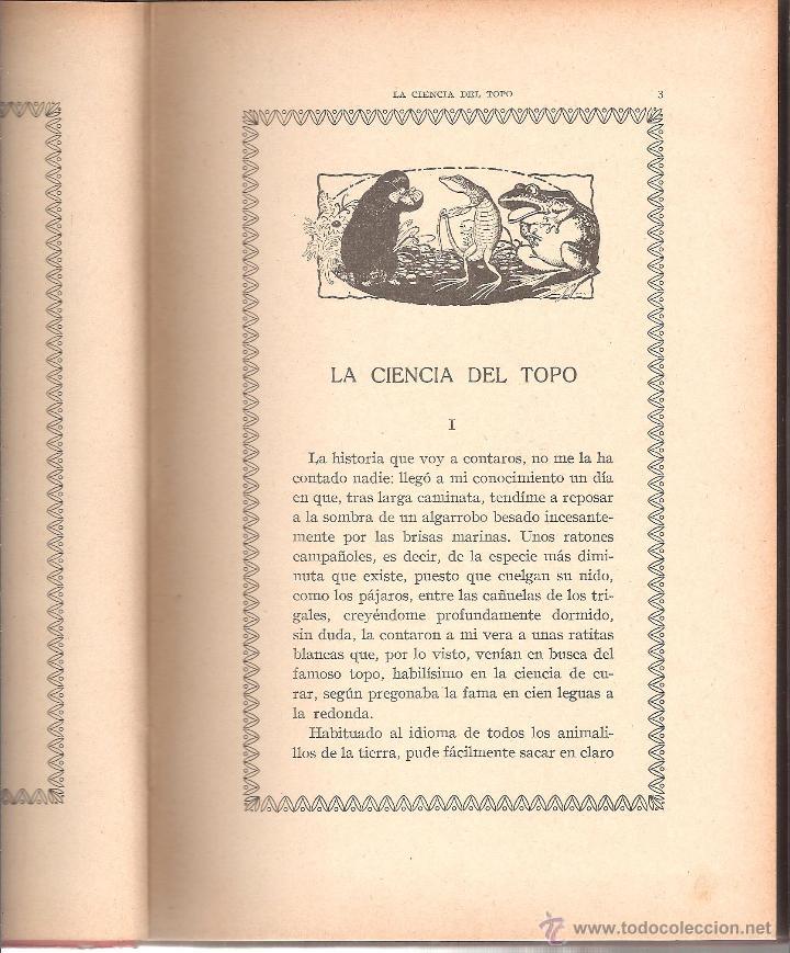Libros antiguos: BELLOS EJEMPLOS DE BIBLIOTECA NATURA TOMO III AÑO 1918-ocasión - Foto 3 - 44313468