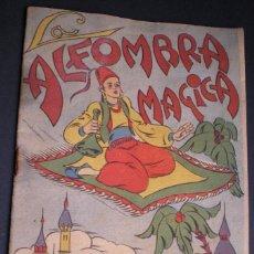 Libros antiguos: L108 - LA ALFOMBRA MÁGICA - ANTIGUO CUENTO PARA PINTAR - EDITORIAL CASTALIA - ILUSTRACIONES DE RIBAS. Lote 44653014