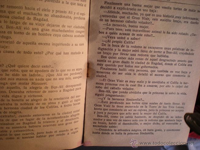 Libros antiguos: L108 - LA ALFOMBRA MÁGICA - ANTIGUO CUENTO PARA PINTAR - EDITORIAL CASTALIA - ILUSTRACIONES DE RIBAS - Foto 5 - 44653014