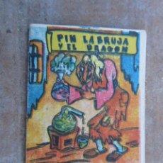Libros antiguos: PIN LA BRUJA Y EL DRAGON. Lote 44734436