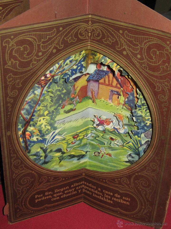 Libros antiguos: LA CASITA DE AZUCAR - COLECCION RADIAL VOL. 1 - BIBLIOTECA DIORAMICA - LIBROS INFANTILES S.A. BARCEL - Foto 2 - 45039301