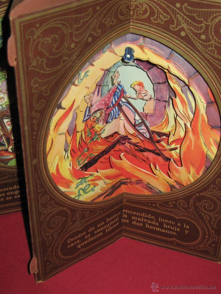 Libros antiguos: LA CASITA DE AZUCAR - COLECCION RADIAL VOL. 1 - BIBLIOTECA DIORAMICA - LIBROS INFANTILES S.A. BARCEL - Foto 3 - 45039301