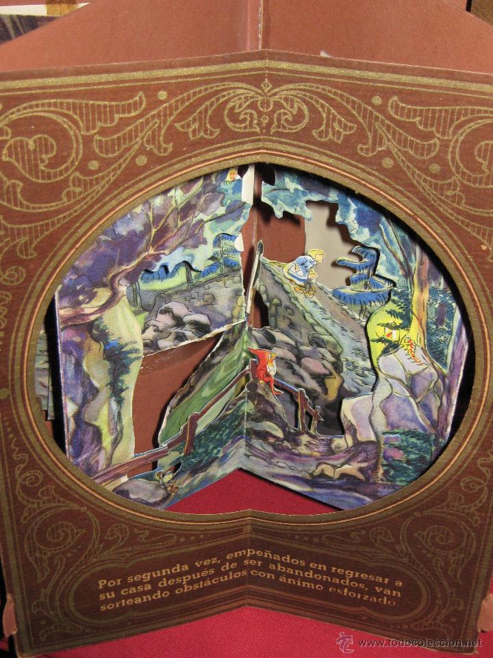 Libros antiguos: LA CASITA DE AZUCAR - COLECCION RADIAL VOL. 1 - BIBLIOTECA DIORAMICA - LIBROS INFANTILES S.A. BARCEL - Foto 6 - 45039301