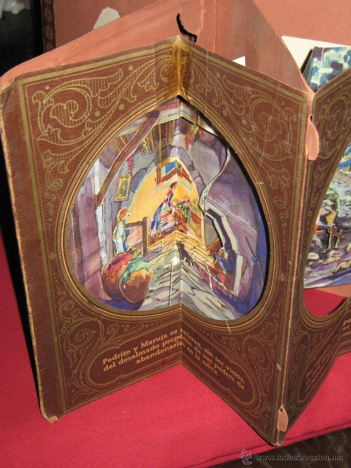 Libros antiguos: LA CASITA DE AZUCAR - COLECCION RADIAL VOL. 1 - BIBLIOTECA DIORAMICA - LIBROS INFANTILES S.A. BARCEL - Foto 7 - 45039301
