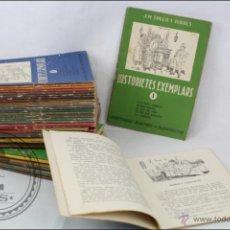 Libros antiguos: CONJUNTO DE 42 LIBRITOS EN CATALÁN HISTORIETES EXEMPLARS - NÚM. 1 AL 44 - EDITORIAL BALMES. Lote 54605386