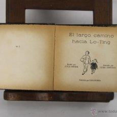 Libros antiguos: 5309- AVENTURAS DE DOS NIÑOS CHINOS. JULIA BEDIER. EDIT. DIFUSION. SIN FECHA. . Lote 45567473