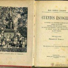 Libros antiguos: ANDERSEN : CUENTOS ESCOGIDOS (HENRICH, 1913). Lote 45597579