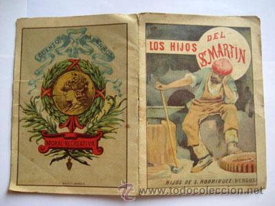 CUENTOS PARA LOS NIÑOS. LOS HIJOS DEL SR.MARTÍN. FRONTAURA CARLOS. HIJOS DE S.RODRÍGUEZ (Libros Antiguos, Raros y Curiosos - Literatura Infantil y Juvenil - Cuentos)