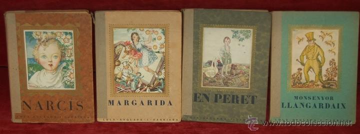 4 LIBROS ILUSTRADOS POR LOLA ANGLADA SARRIERA. PRIMERAS EDICIONES DE LOS AÑOS 30 (Libros Antiguos, Raros y Curiosos - Literatura Infantil y Juvenil - Cuentos)
