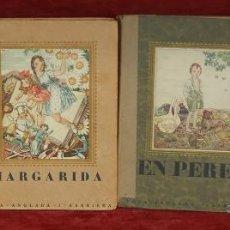 Libros antiguos: 4 LIBROS ILUSTRADOS POR LOLA ANGLADA SARRIERA. PRIMERAS EDICIONES DE LOS AÑOS 30. Lote 45935157
