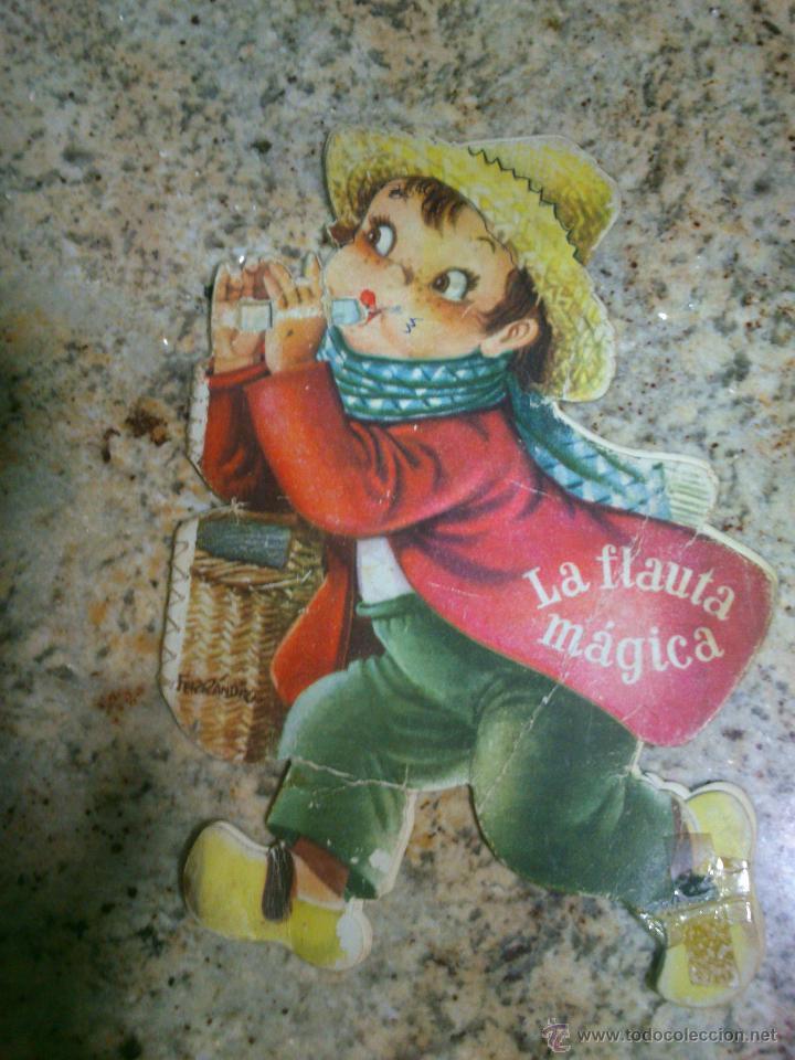 CUENTO TROQUELADO FERRÁNDIZ LA FLAUTA MÁGICA (Libros Antiguos, Raros y Curiosos - Literatura Infantil y Juvenil - Cuentos)