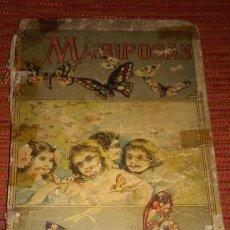 Libros antiguos: MARIPOSAS, DE D. MANUEL MARINEL-LO. DE 1908. CON DEDICATORIA DEL AUTOR.. Lote 46136436