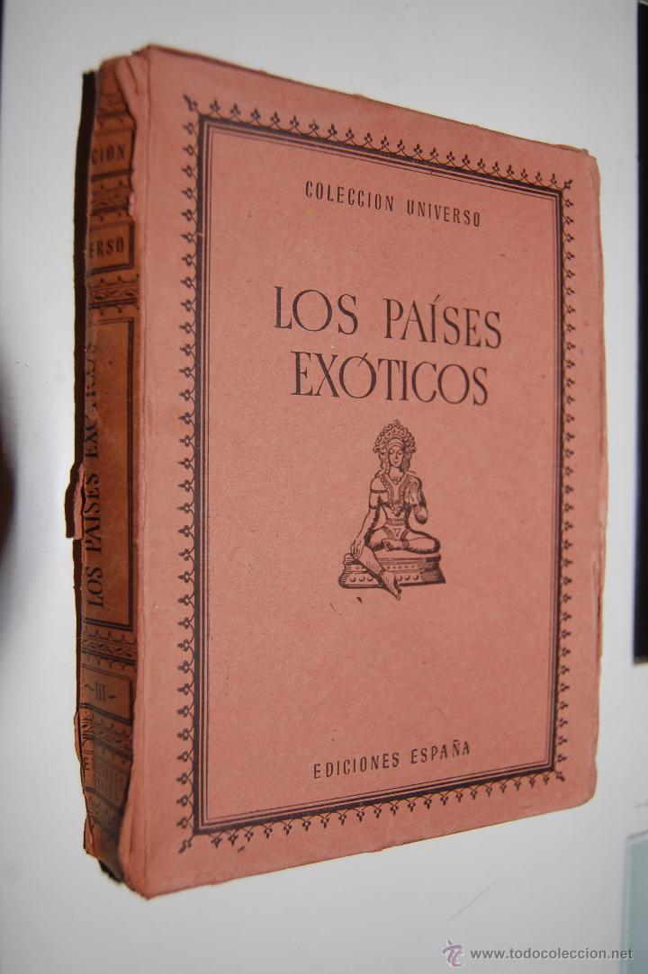 LOTE 20 LIBROS LOS PAISES EXOTICOS COLECCION UNIVERSO EDICIONES ESPAÑA TOMO III COMPLETO. Nº 1 AL 20 (Libros Antiguos, Raros y Curiosos - Literatura Infantil y Juvenil - Cuentos)