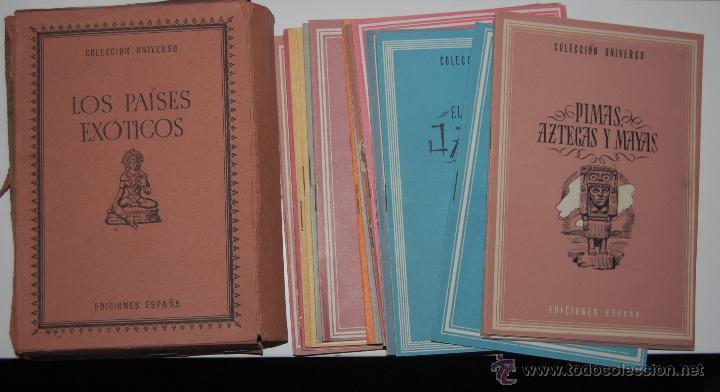 Libros antiguos: LOTE 20 LIBROS LOS PAISES EXOTICOS COLECCION UNIVERSO EDICIONES ESPAÑA TOMO III COMPLETO. Nº 1 AL 20 - Foto 2 - 46255560
