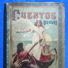 Livros antigos: CUENTOS AZULES. BIBLIOTECA ENCICLOPÉDICA PARA NIÑOS XXI. EDITORIAL SATURNINO CALLEJA, SIN FECHA.. Lote 49407360