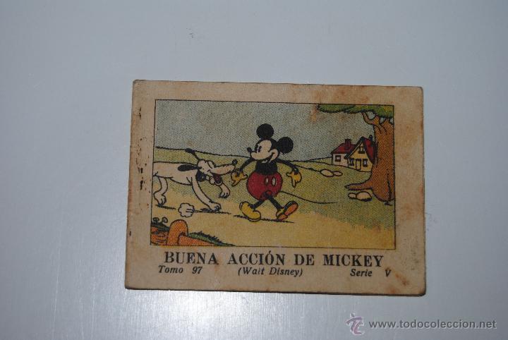 CUENTO CALLEJA BUENA ACCION DE MICKEY TOMO 97 SERIE V 1936 (Libros Antiguos, Raros y Curiosos - Literatura Infantil y Juvenil - Cuentos)