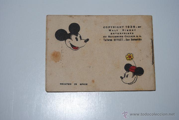 Libros antiguos: CUENTO CALLEJA BUENA ACCION DE MICKEY TOMO 97 SERIE V 1936 - Foto 2 - 47047618