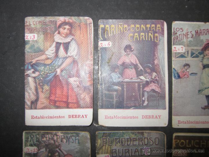 LOTE 37 CUENTOS - ALGUNOS PUBLICIDAD CAFE DEBRAY - (V-1691) (Libros Antiguos, Raros y Curiosos - Literatura Infantil y Juvenil - Cuentos)
