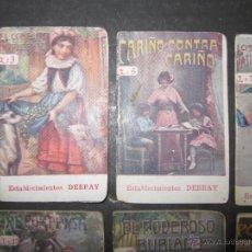 Libros antiguos: LOTE 37 CUENTOS - ALGUNOS PUBLICIDAD CAFE DEBRAY - (V-1691). Lote 47108814
