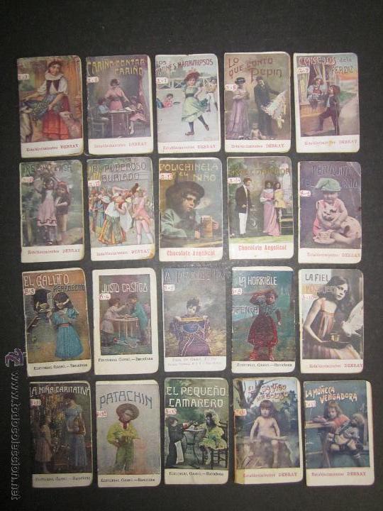 Libros antiguos: LOTE 37 CUENTOS - ALGUNOS PUBLICIDAD CAFE DEBRAY - (V-1691) - Foto 2 - 47108814